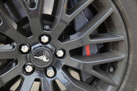 ford mustang gt brembo six piston calipers