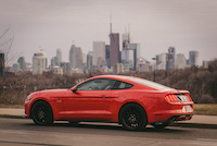 ford mustang gt rear toronto six