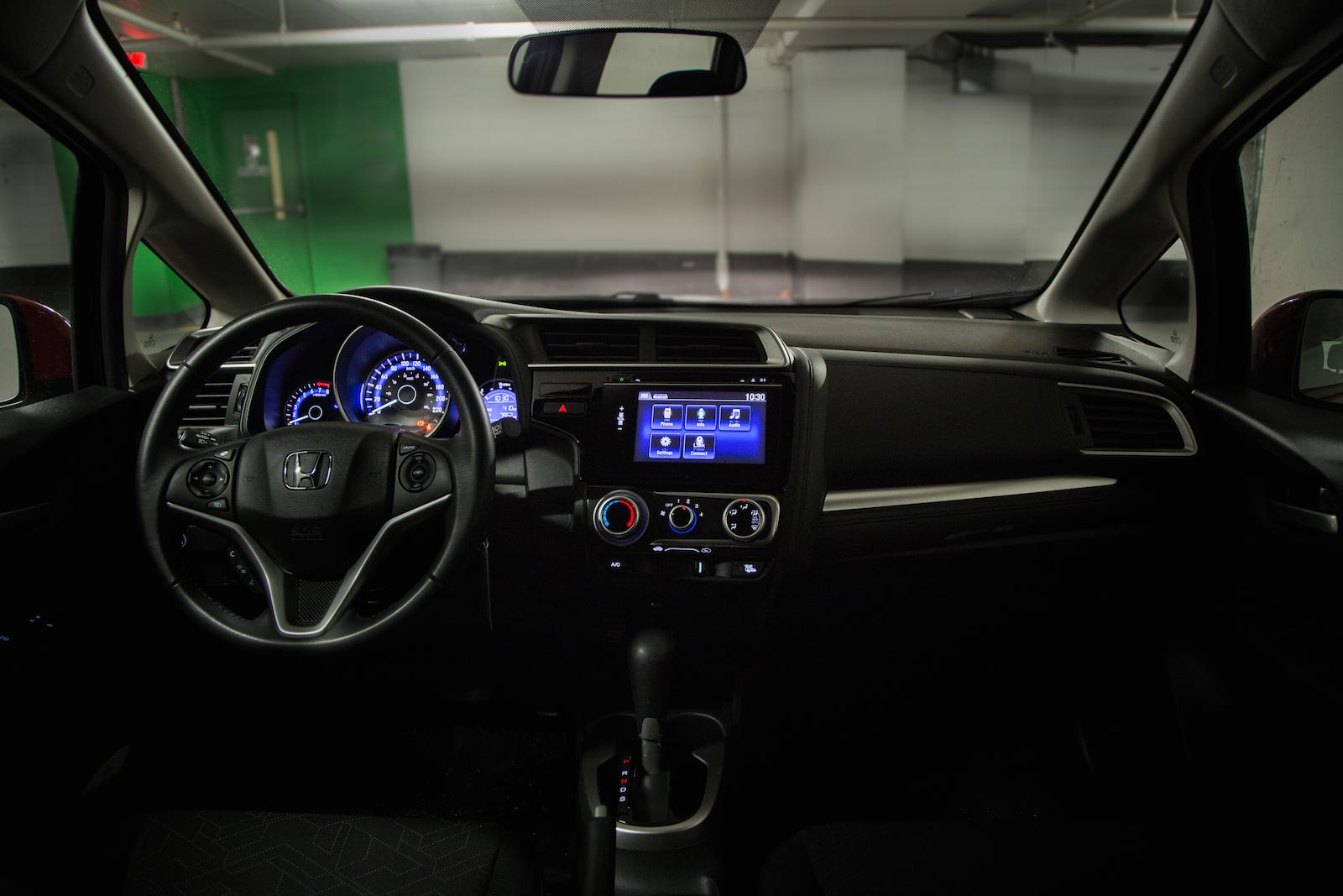 2015 Honda Fit Rear Cloth Seats 2015 Honda Fit Interior Dash ...