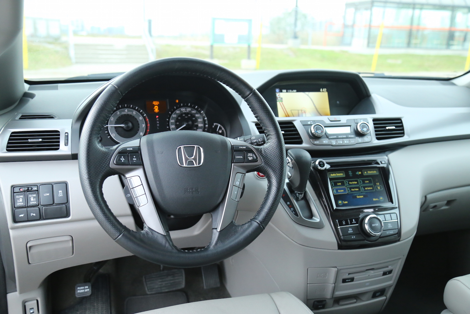 Review 2015 Honda Odyssey Touring Canadian Auto Review