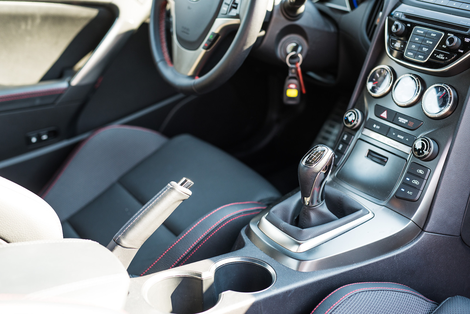 genesis coupe manual transmission gears