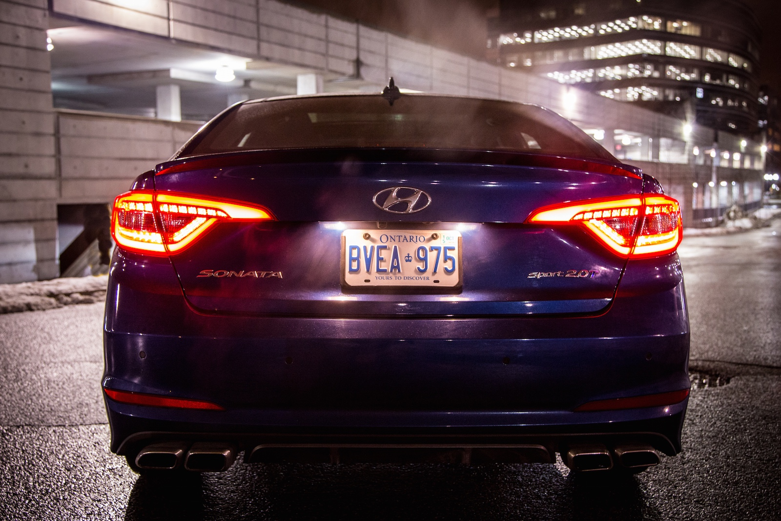 Review 2015 Hyundai Sonata Ultimate 2 0t Canadian Auto