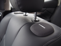 infiniti q70 bose speakers on seat