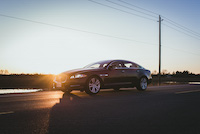 jaguar xjl awd sunset