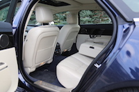 jaguar xj semi aniline rear leather seats