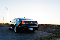 jaguar xjl awd rear portfolio all wheel drive