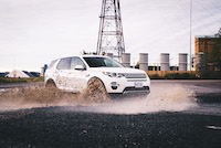 land rover discovery sport off road