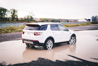 discovery sport rear view