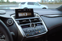 lexus nx200t center console buttons