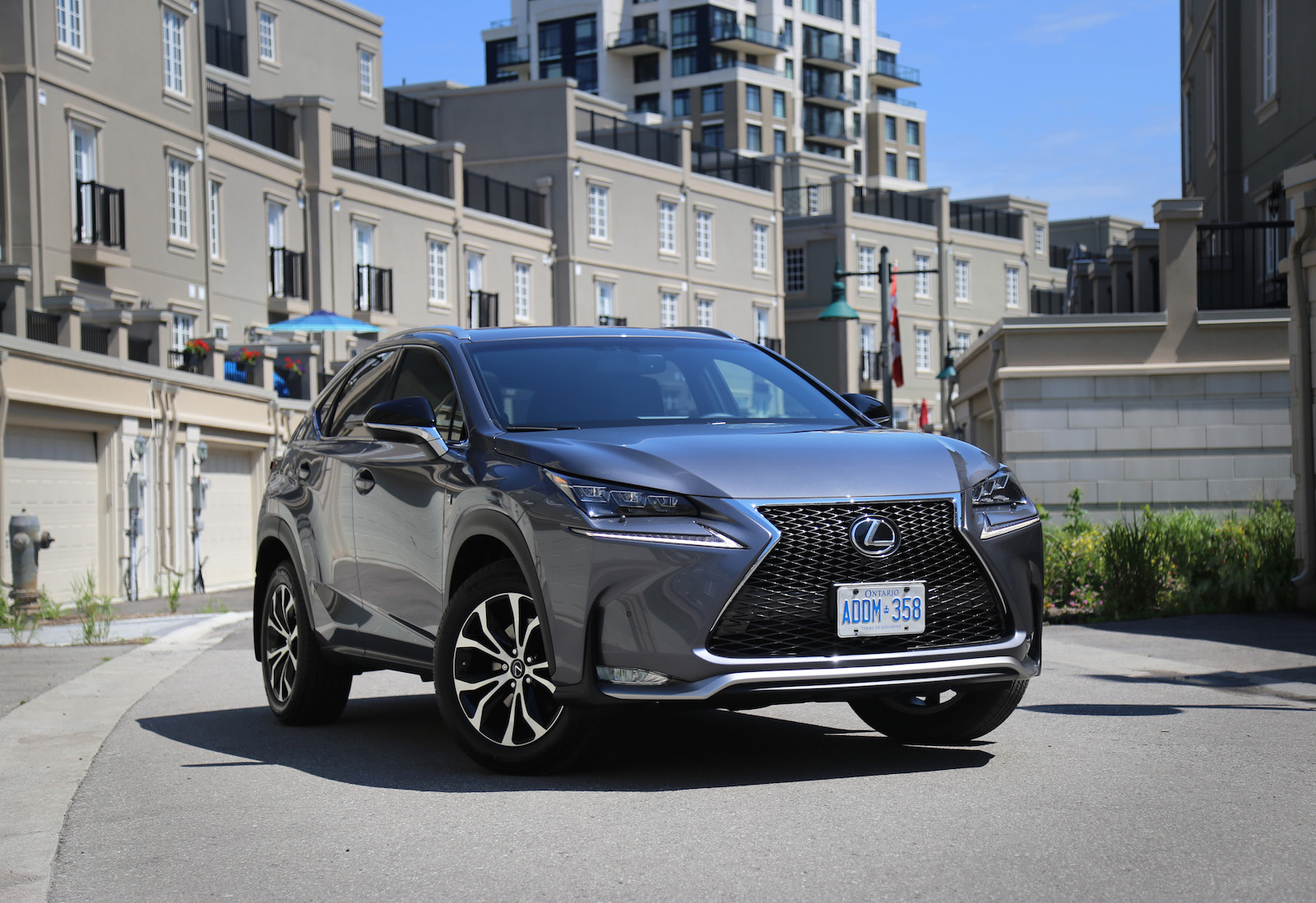 review 2015 lexus nx 200t canadian auto review. Black Bedroom Furniture Sets. Home Design Ideas