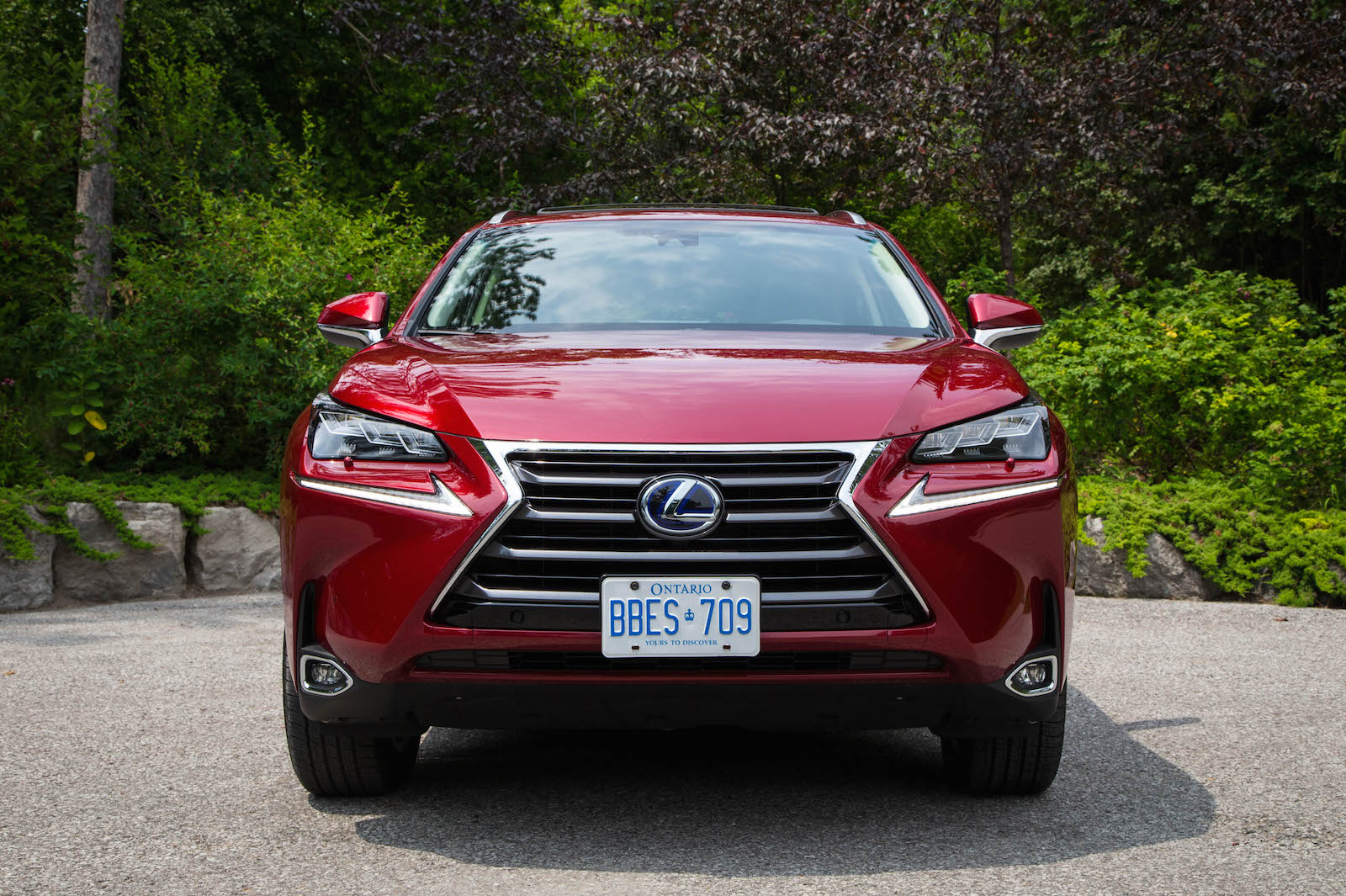 review 2015 lexus nx 300h canadian auto review. Black Bedroom Furniture Sets. Home Design Ideas