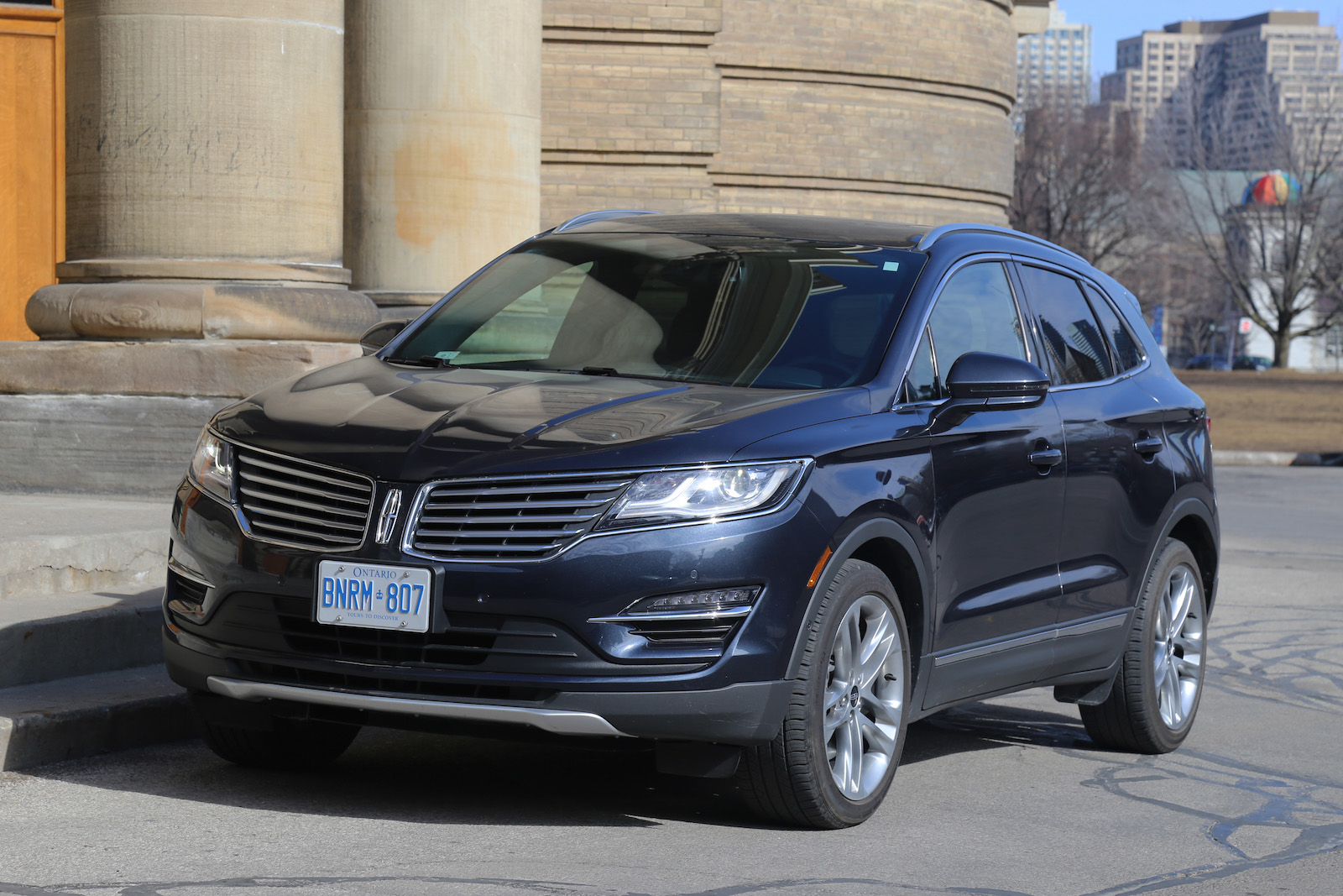 review 2015 lincoln mkc canadian auto review. Black Bedroom Furniture Sets. Home Design Ideas