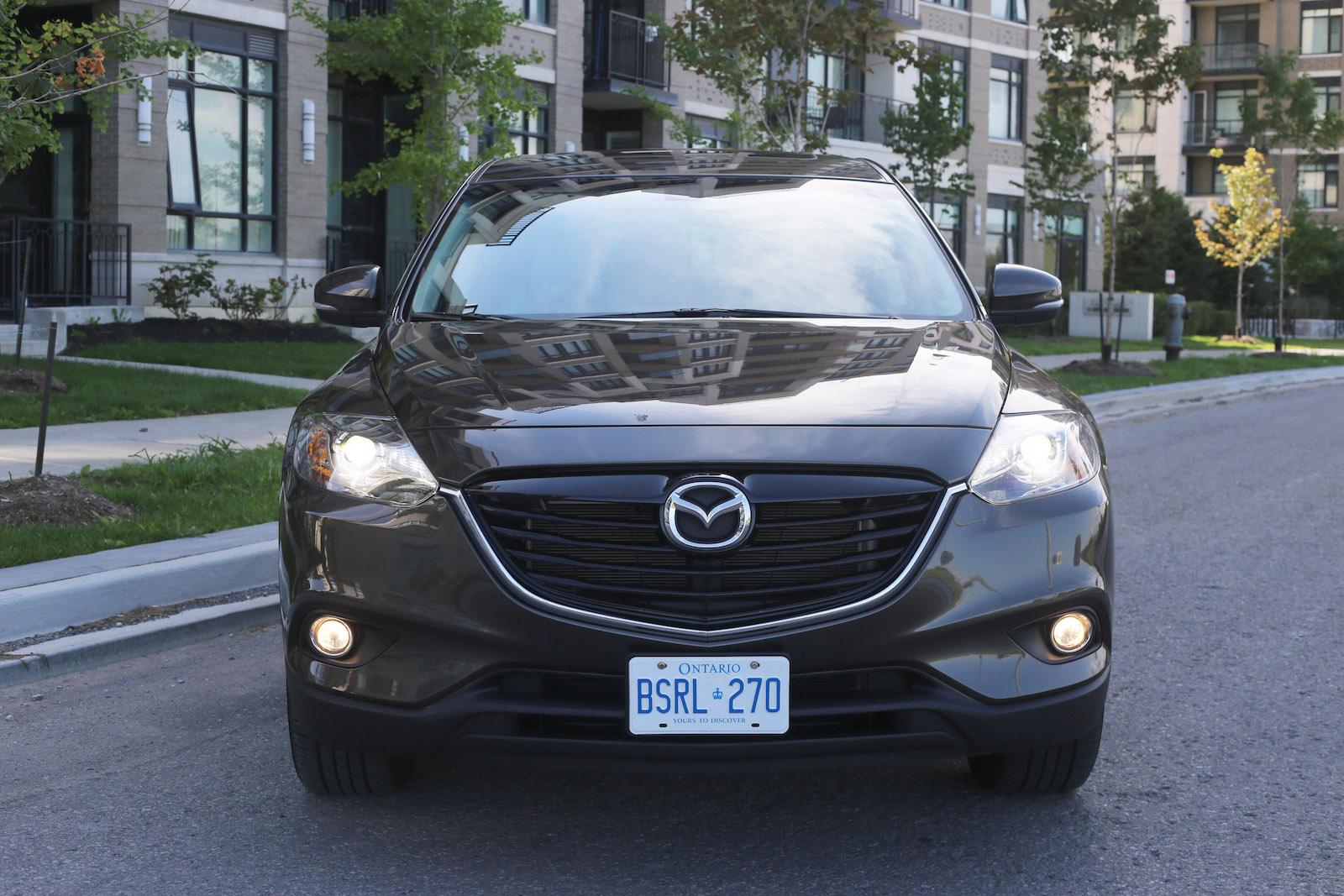 Mazda mazda cx 9 front grill : Review: 2015 Mazda CX-9 GT | Canadian Auto Review