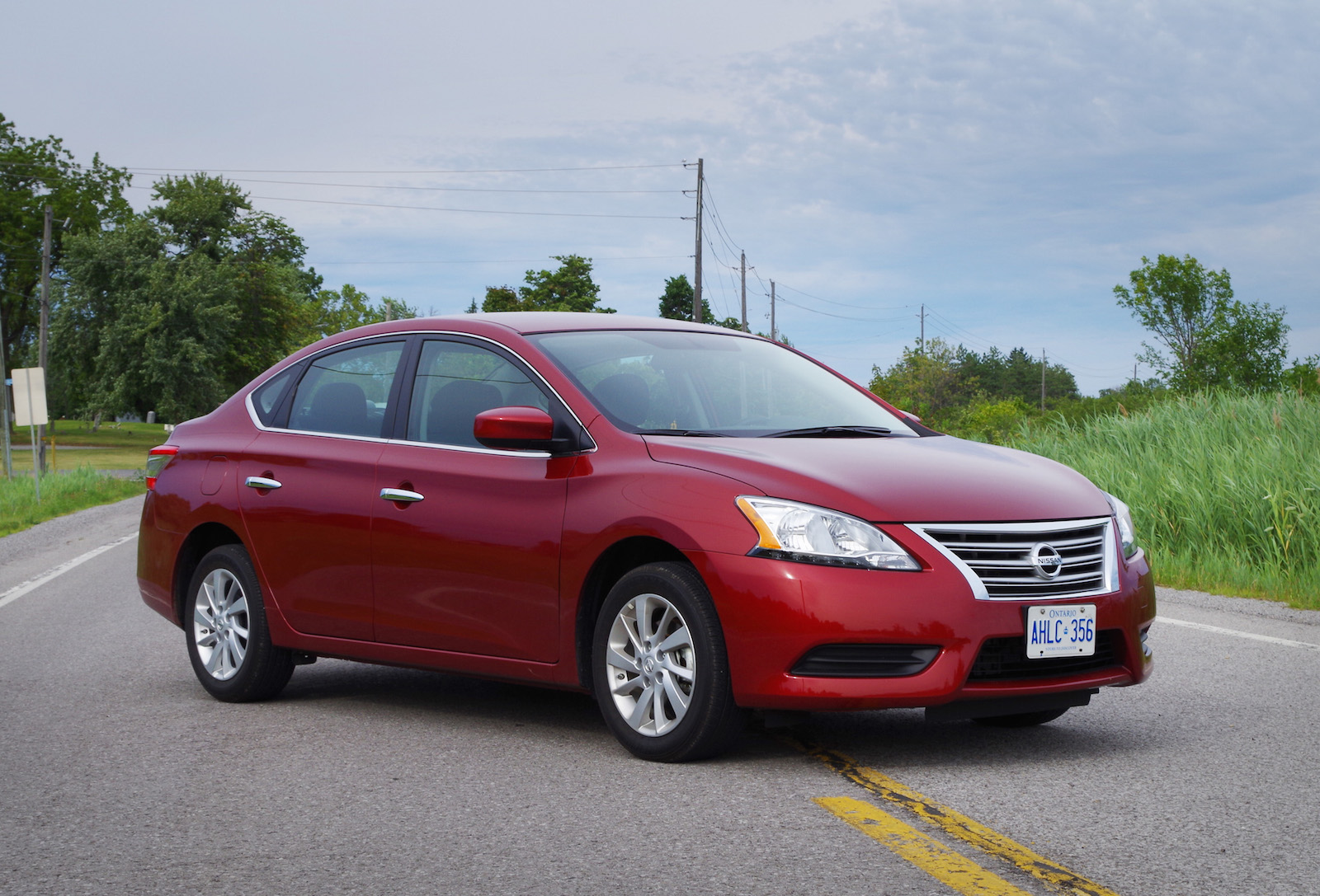 review 2015 nissan sentra sv canadian auto review