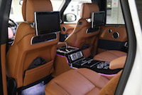 range rover lwb autobiography dvd display