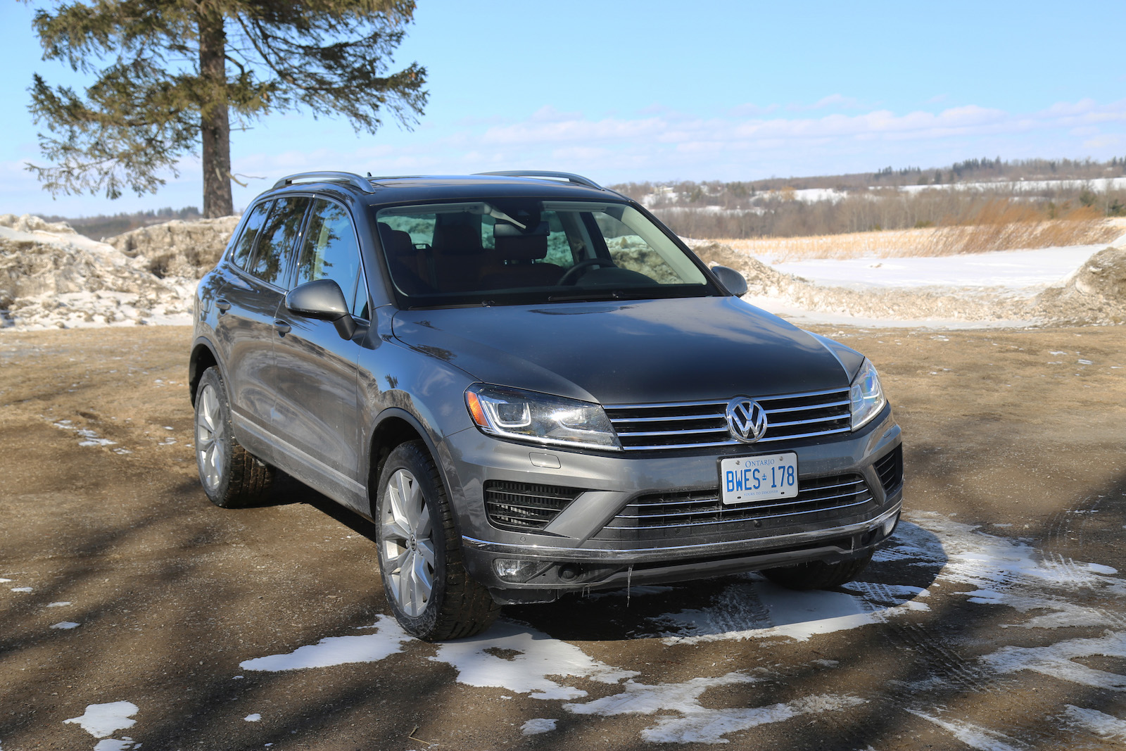 Review 2015 Volkswagen Touareg Tdi Canadian Auto Review