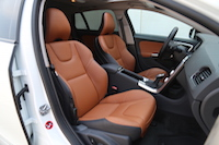 volvo v60 cross country beechwood leather