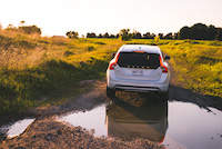 volvo v60 cross country offroad mud dirty