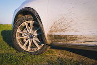 volvo v60 cross country wheels dirt