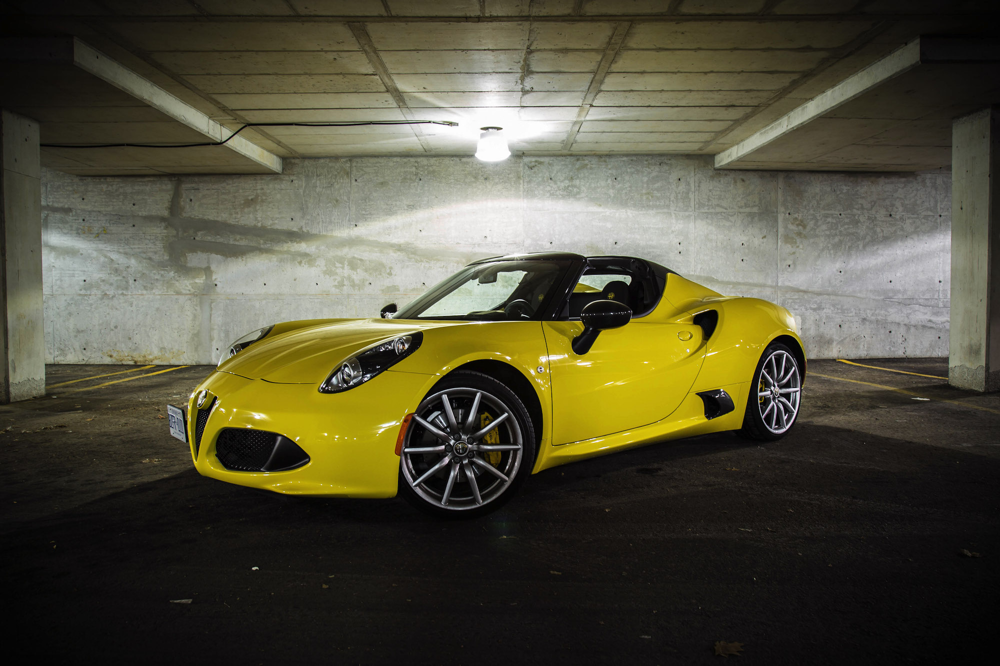 exhaust notes 2016 alfa romeo 4c spider canadian auto review. Black Bedroom Furniture Sets. Home Design Ideas