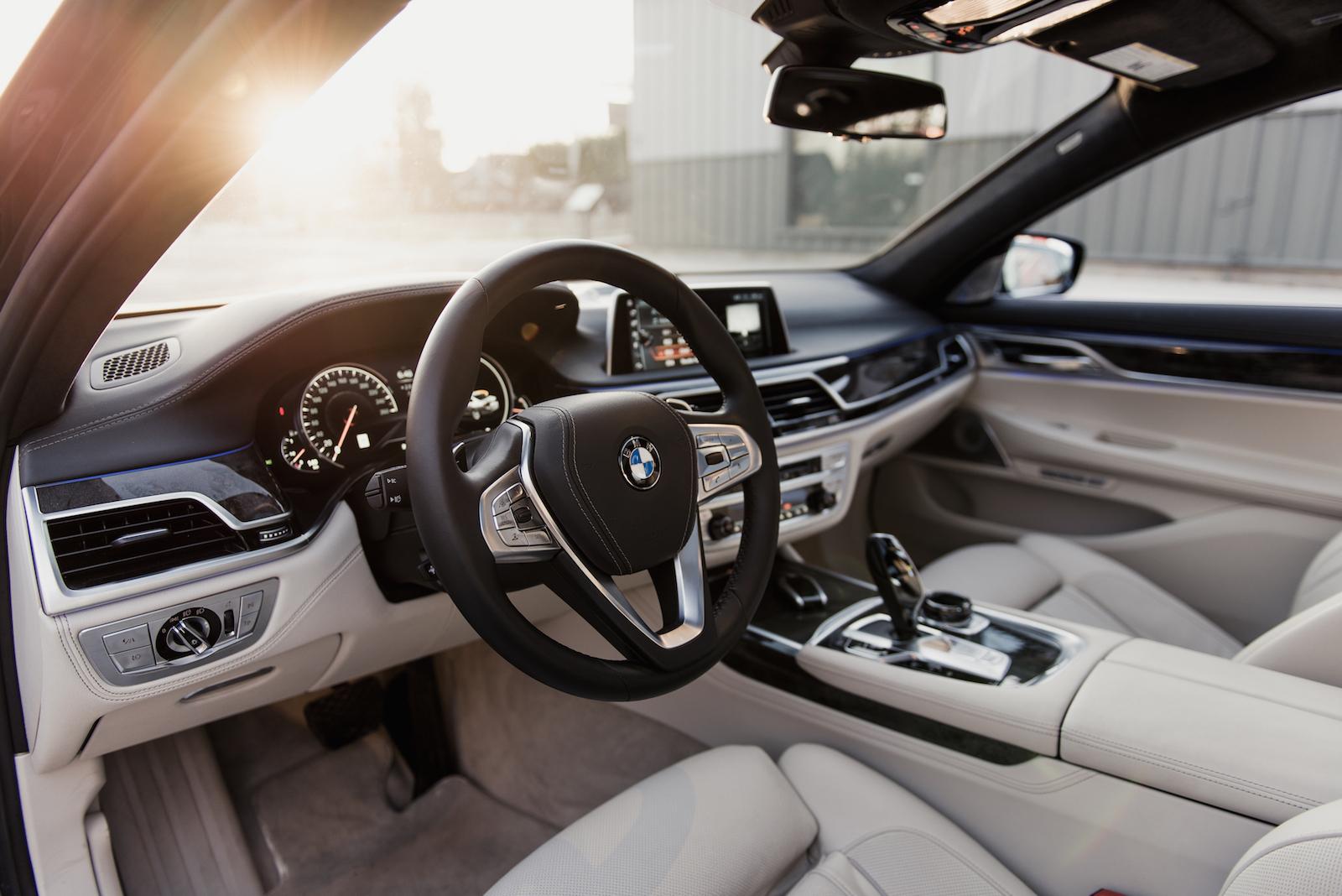 2016 BMW 750Li XDrive Chauffeur Beige Interior