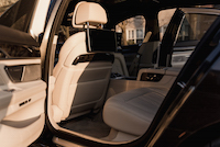 2016 BMW 750Li xDrive rear seats