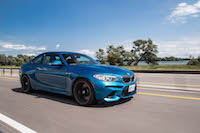 2016 BMW M2 canada blue review