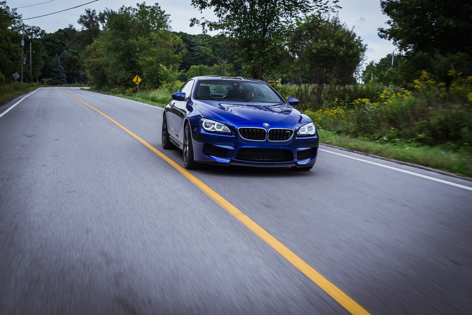 Bmw M6 Blue Competition Package 2016