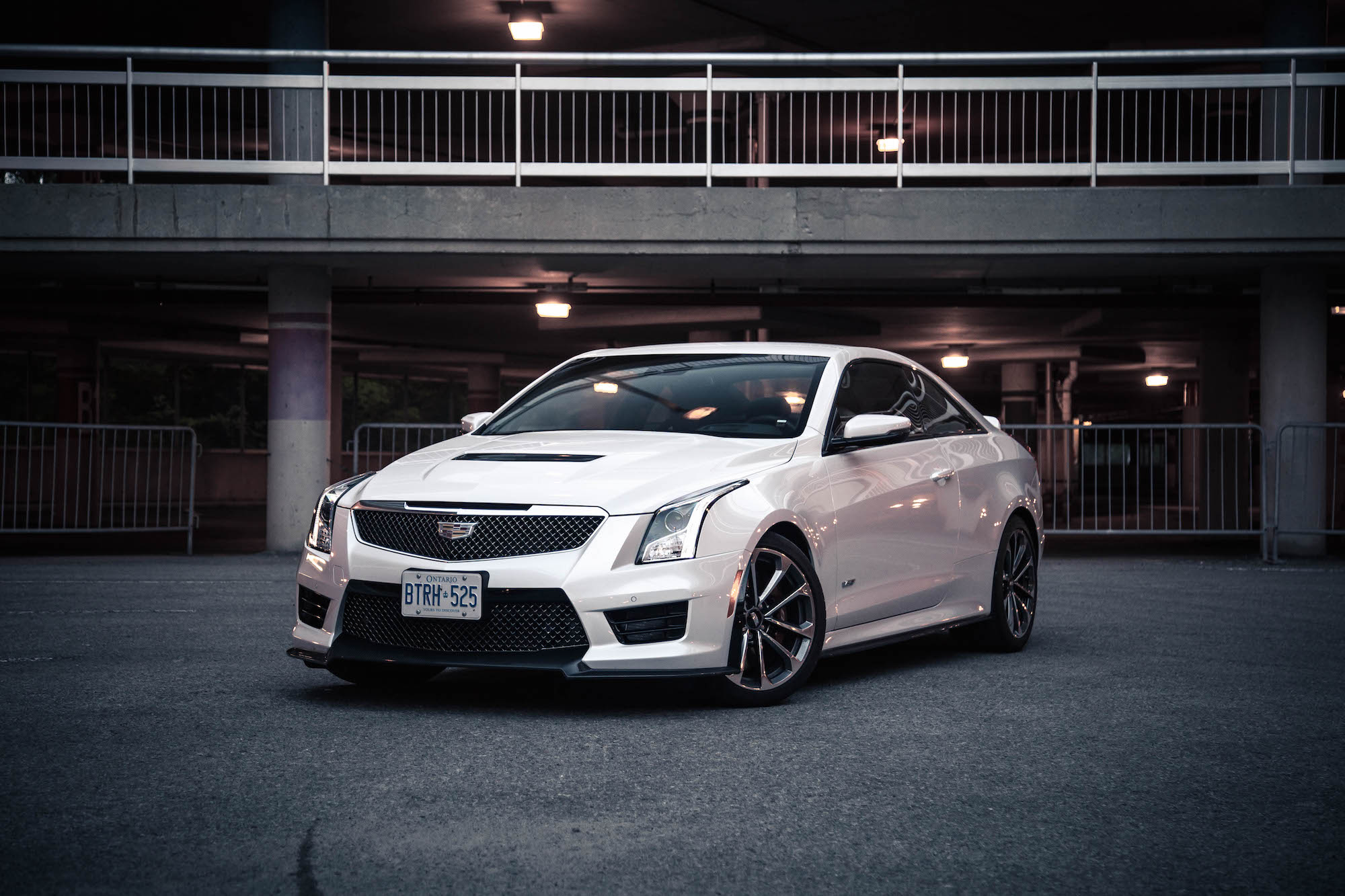 s coupe v review cadillac cts it