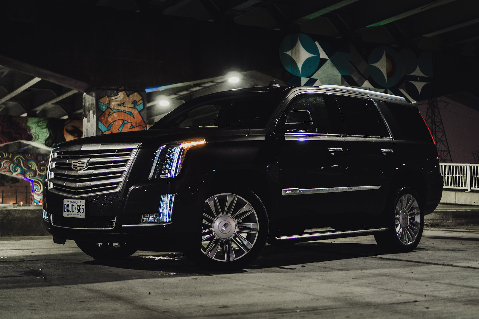Review 2016 cadillac escalade platinum canadian auto review