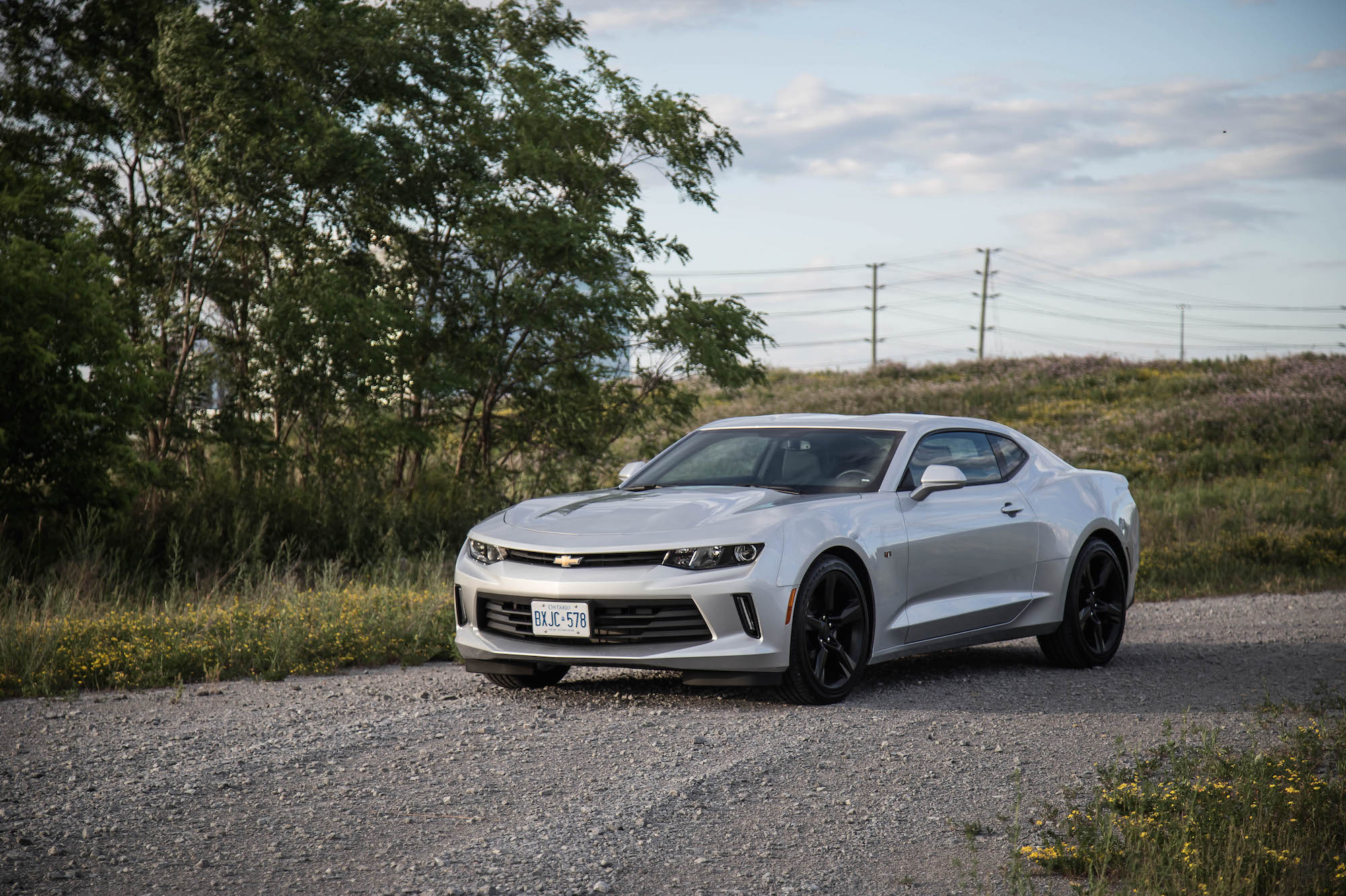 Review 2016 Chevrolet Camaro 2lt Canadian Auto Review