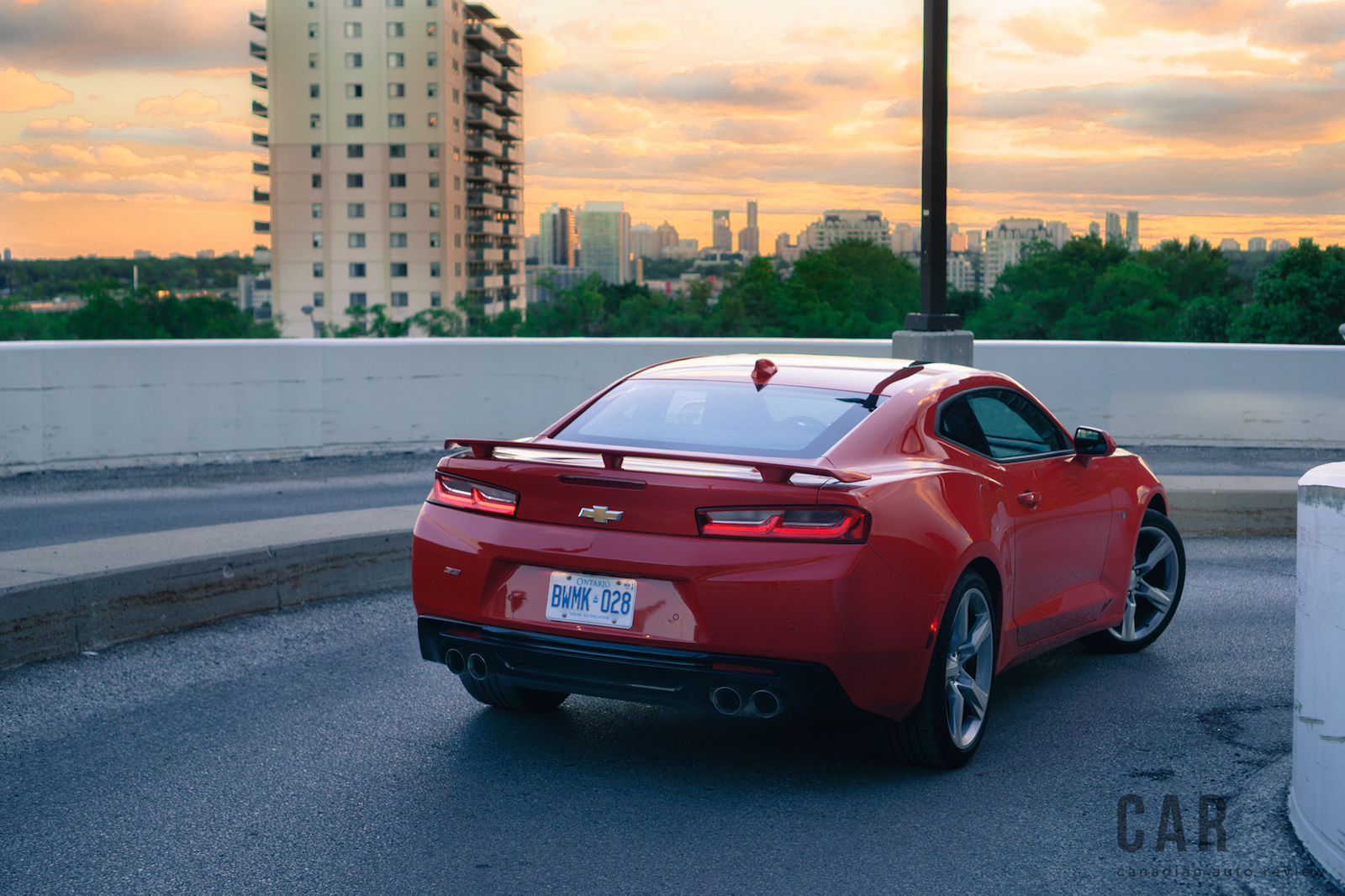 Exhaust Notes: 2016 Chevrolet Camaro SS | Canadian Auto Review