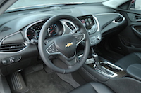 new malibu black interior