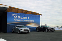 chevrolet malibu media launch