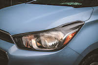 chevrolet spark headlights