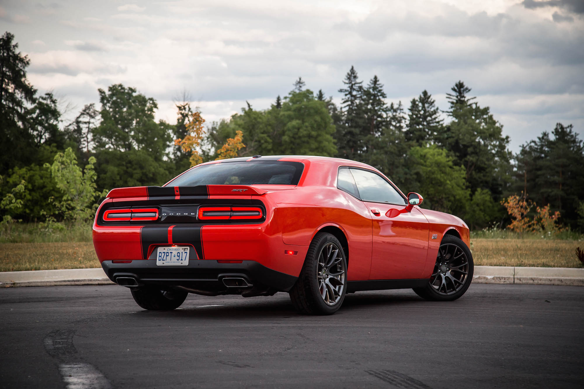 Pirelli P Zero >> Review: 2016 Dodge Challenger SRT 392 | Canadian Auto Review