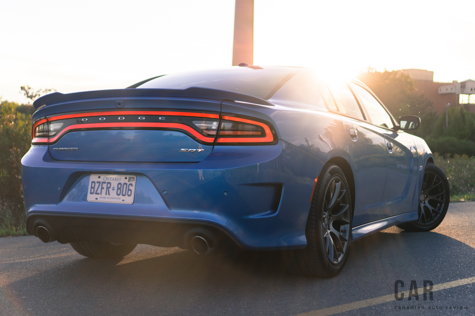 Review 2016 Dodge Charger Srt 392 Canadian Auto Review