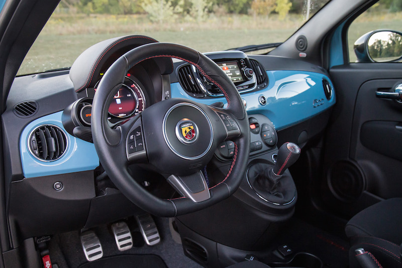 review 2016 fiat 500 abarth 5mt canadian auto review