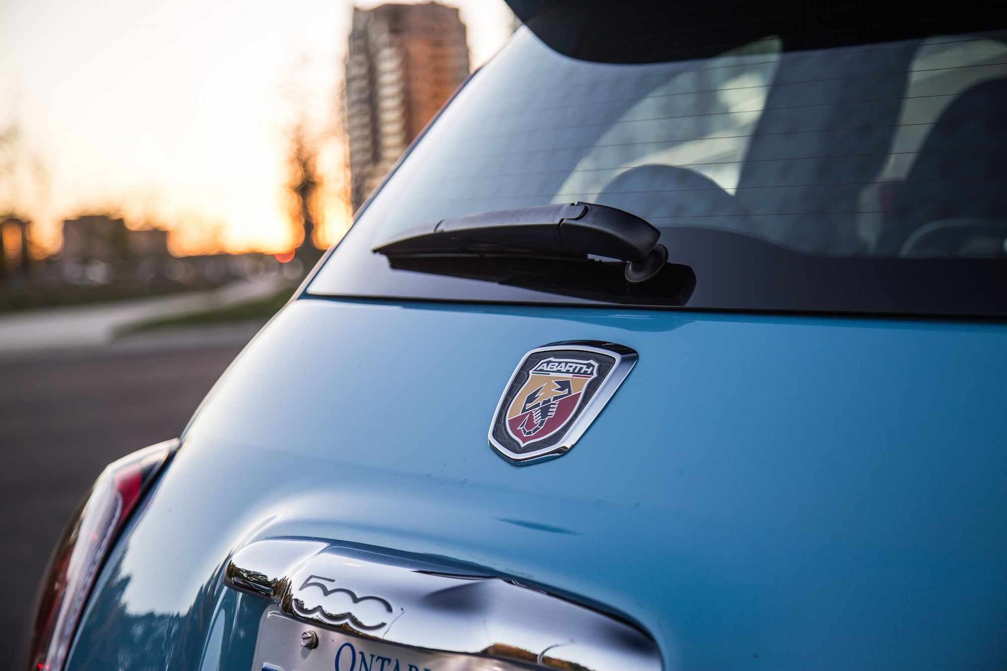 Fiat 500 Abarth Trunk Review: 2016 Fi...