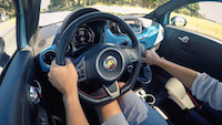 2016 Fiat 500 Abarth Manual driving pov