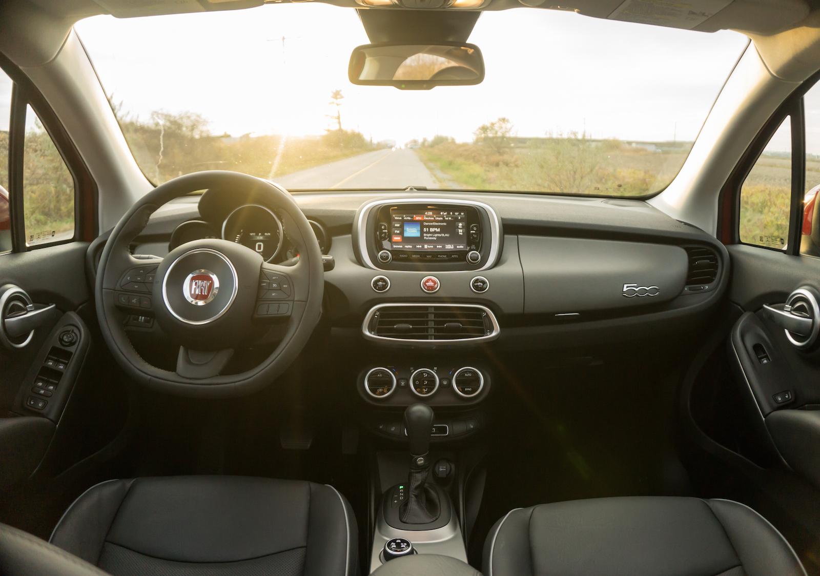 ... Fiat 500x Interior Black