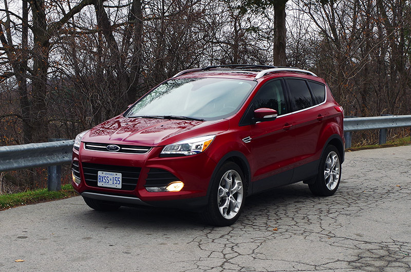 Innovative Review 2016 Ford Escape Titanium  Canadian Auto Review