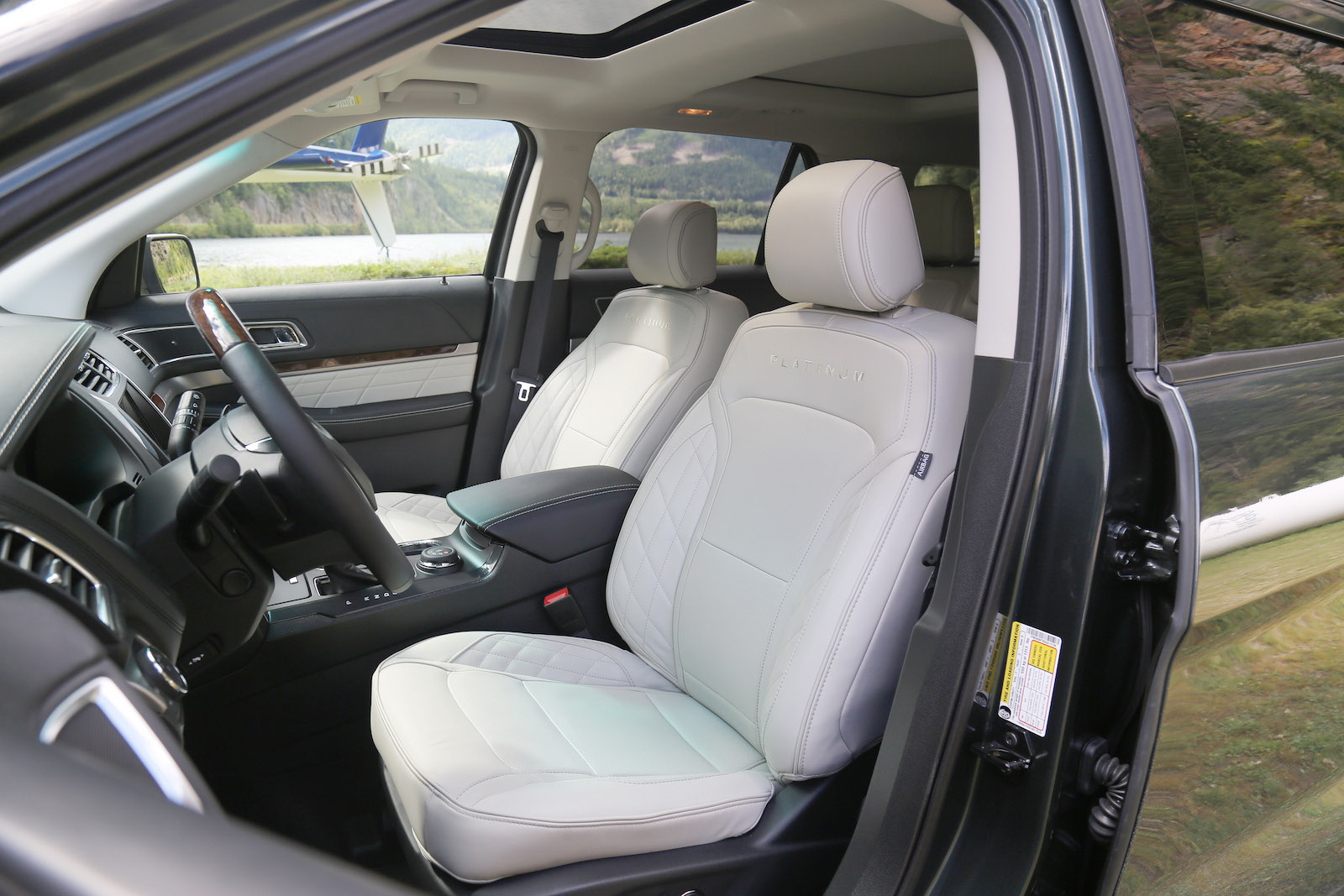 Ford explorer platinum massaging seats