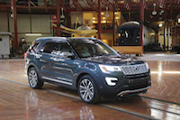 ford explorer platinum in roundhouse