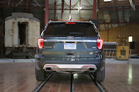 ford explorer platinum rear
