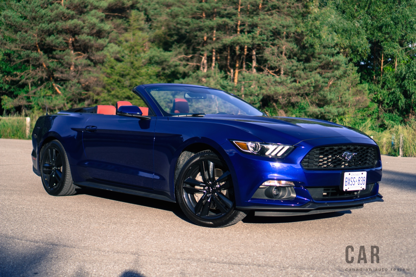 review 2016 ford mustang ecoboost convertible canadian auto review. Black Bedroom Furniture Sets. Home Design Ideas