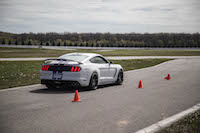2016 Ford Shelby GT350R speeding down