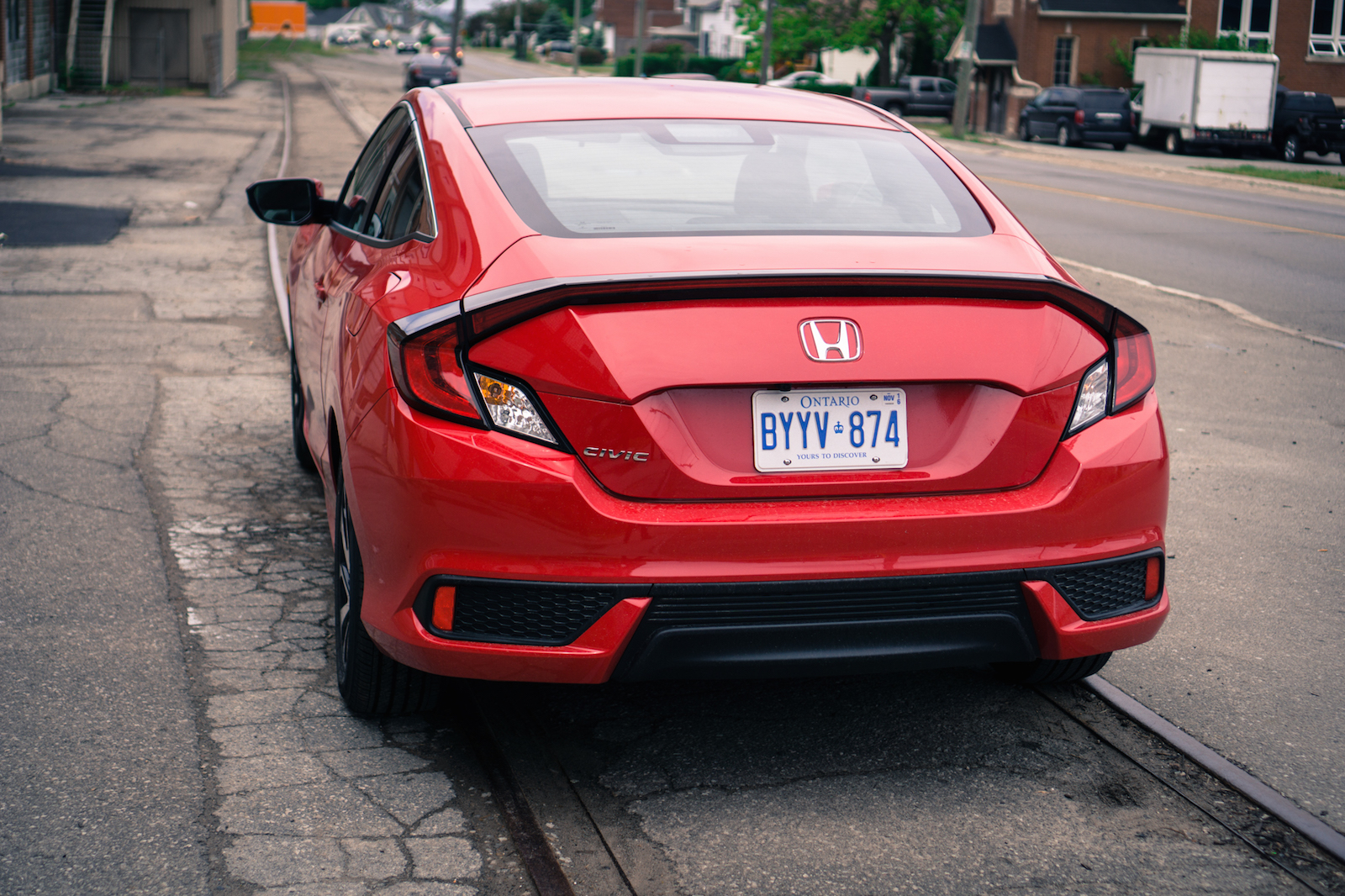 review 2016 honda civic coupe lx canadian auto review. Black Bedroom Furniture Sets. Home Design Ideas