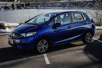 2016 honda fit blue