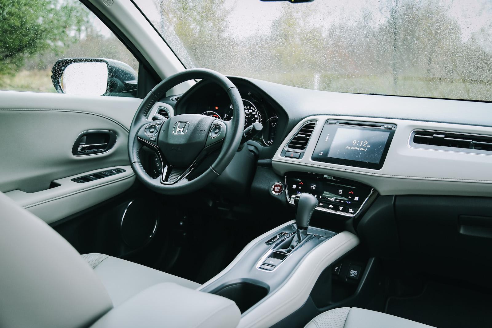 Review 2016 honda hr v ex l navi canadian auto review for Honda hr v interieur
